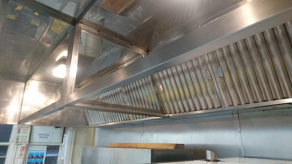 Kitchen Canopy Cleaning Haworth